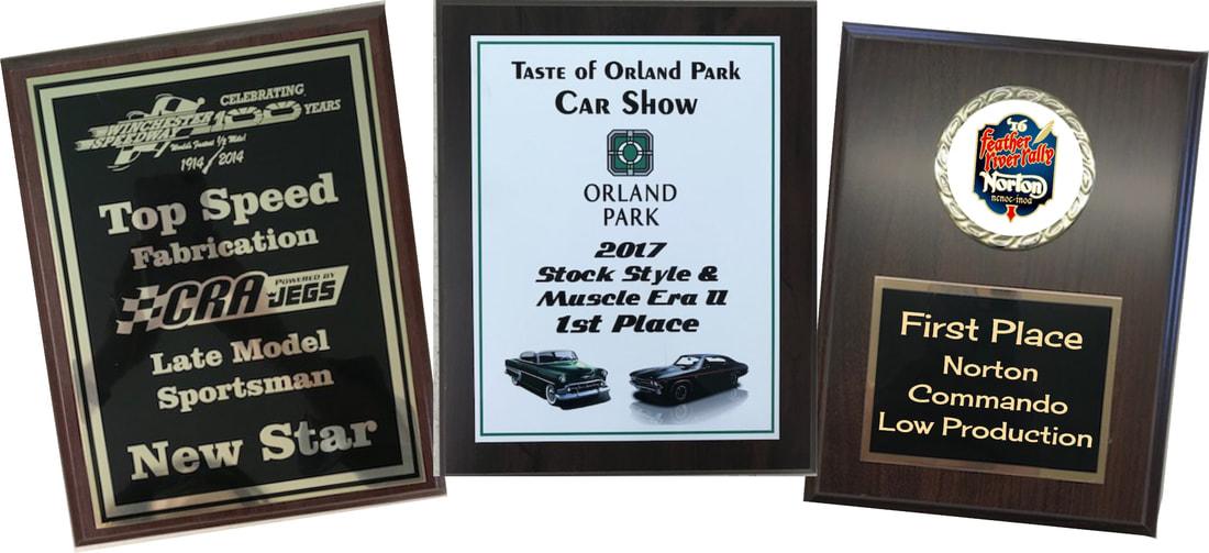 Car Show Package Botkin Trophies Laser Engraving - Car show plaques