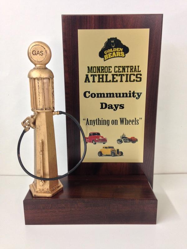Car Show Awards Botkin Trophies Laser Engraving - Cheap car show trophies