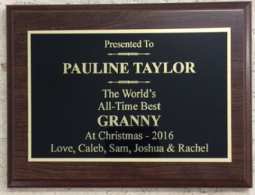 plaque botkin trophies laser engraving
